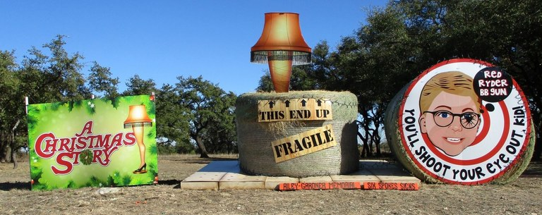 Riley-Gardner Memorial and Six Spokes Signs