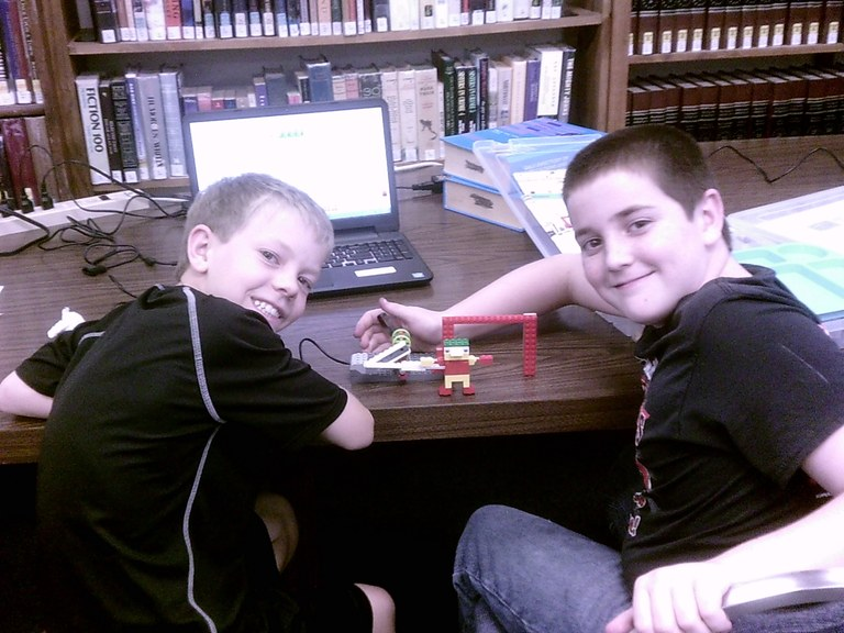 Showing off their build.