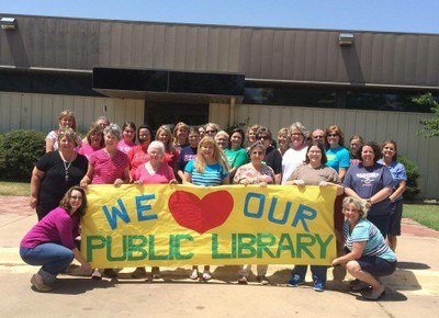 We Love Our Library